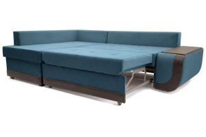 Двуспальный диван Нью-Йорк-2 Maserati  Blue + Sontex Umber Спальное место