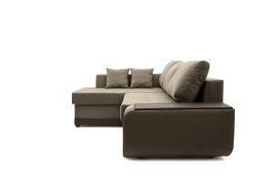 Угловой диван Нью-Йорк-2 Maserati Gray-Beight + Sontex Umber Вид сбоку