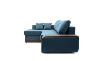 Двуспальный диван Нью-Йорк-2 Maserati  Blue + Sontex Umber Вид сбоку