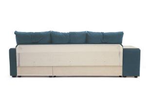 Угловой диван Парадиз Maserati  Blue + Beight Вид сзади