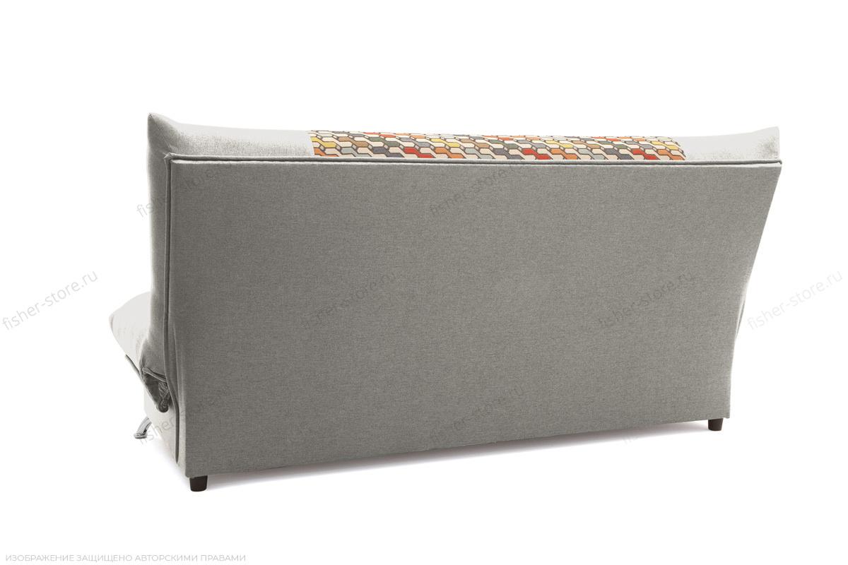Прямой диван Хилтон-2 вилка Dream Grey + History Bricks Вид сзади