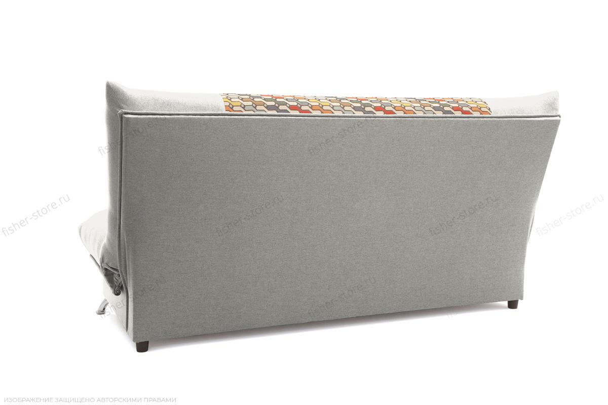 Прямой диван Хилтон-2 вилка Dream Light grey + History Bricks Вид сзади