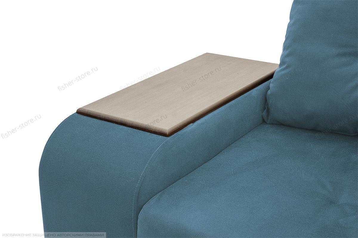 Угловой диван Парадиз Maserati  Blue + Beight Подлокотник