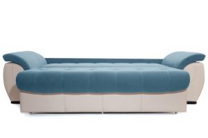 Прямой диван Соренто Maserati Blue + Sontex Beige Спальное место
