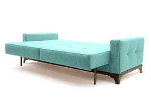 Прямой диван Джерси-5 с опорой №4 Orion Blue Спальное место