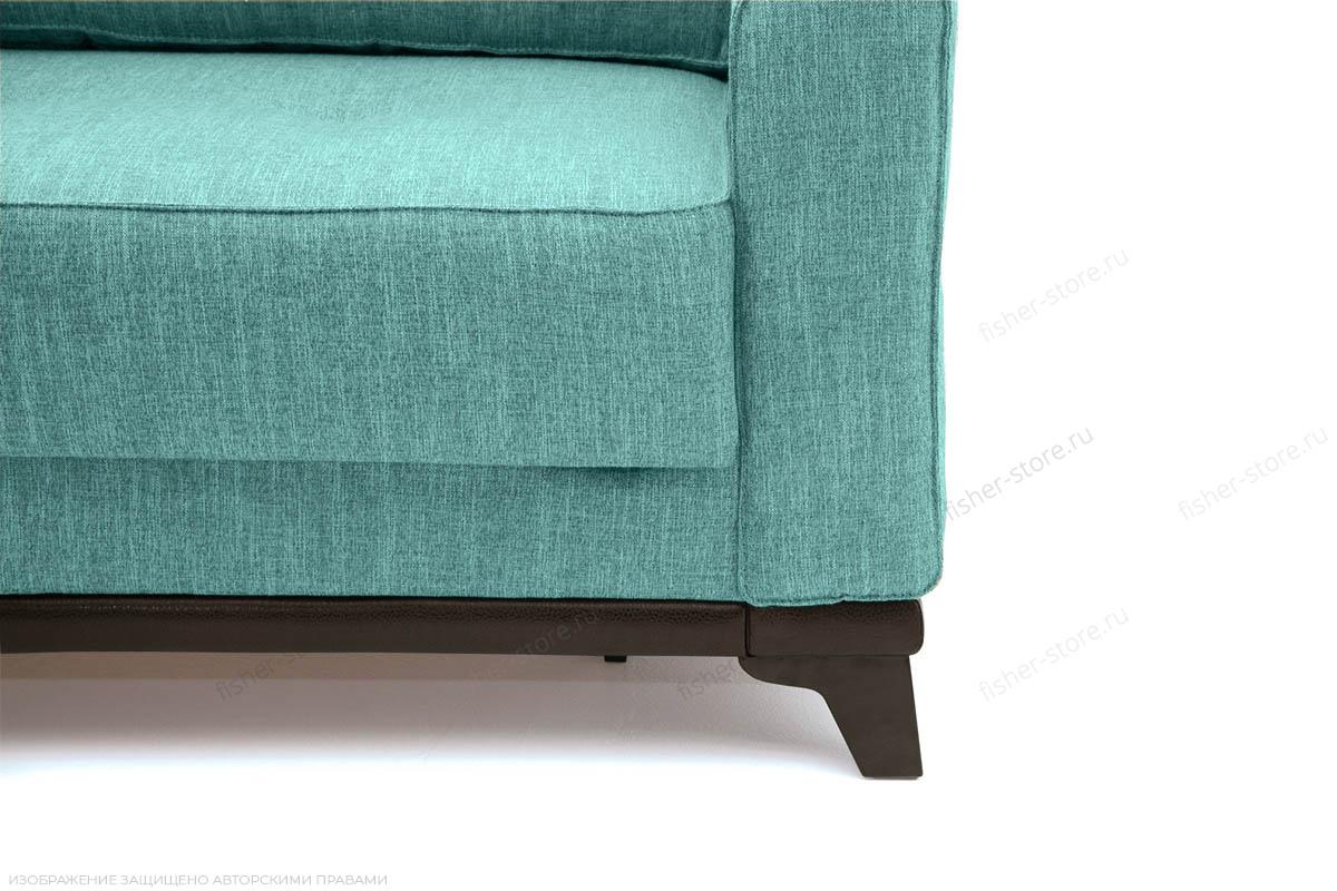 Прямой диван Джерси-5 с опорой №4 Orion Blue Ножки