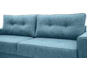 Прямой диван Джерси-5 с опорой №4 Orion Denim Подушки
