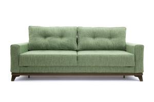 Прямой диван Джерси-5 с опорой №4 Orion Green Вид спереди