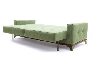 Прямой диван Джерси-5 с опорой №4 Orion Green Спальное место