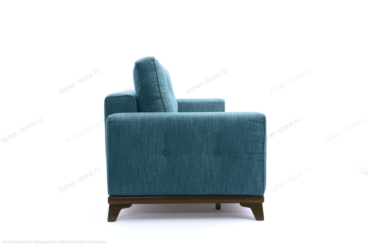 Прямой диван Джерси-5 с опорой №4 Orion Denim Вид сбоку