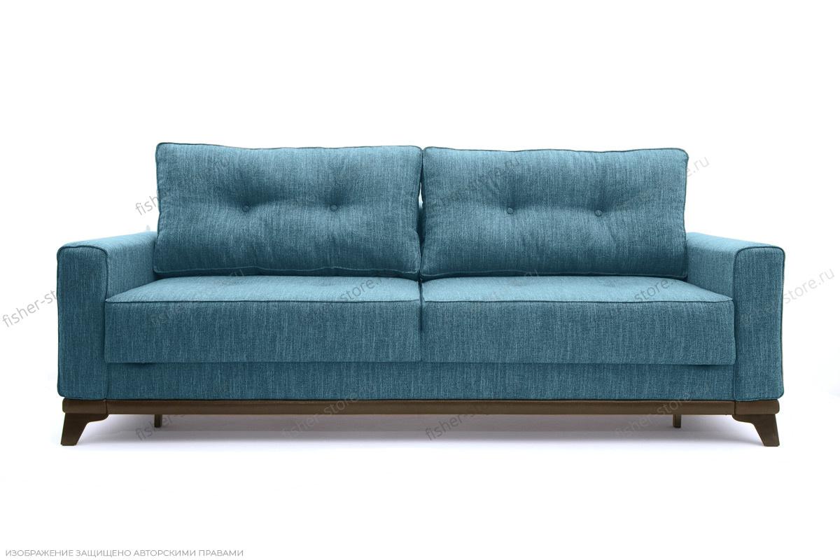 Прямой диван Джерси-5 с опорой №4 Orion Denim Вид спереди