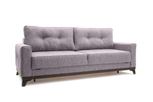 Прямой диван Джерси-5 с опорой №4 Orion Lilac Вид по диагонали