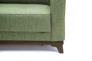 Прямой диван Джерси-5 с опорой №4 Orion Green Ножки
