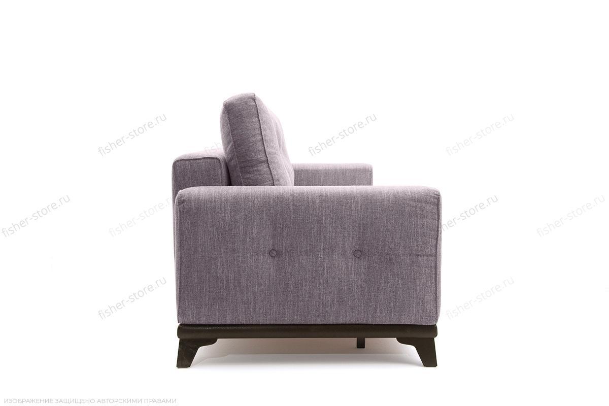 Прямой диван Джерси-5 с опорой №4 Orion Lilac Вид сбоку