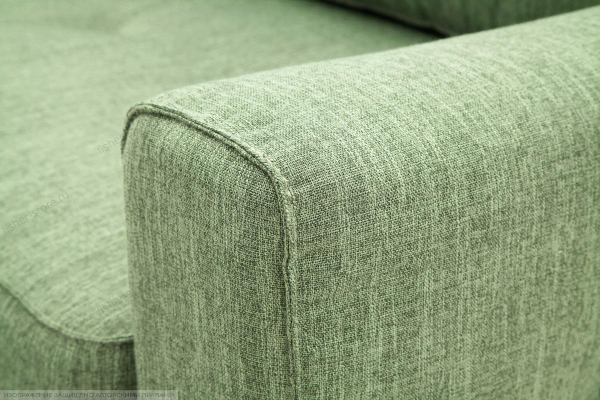Прямой диван Джерси-5 с опорой №4 Orion Green Подлокотник