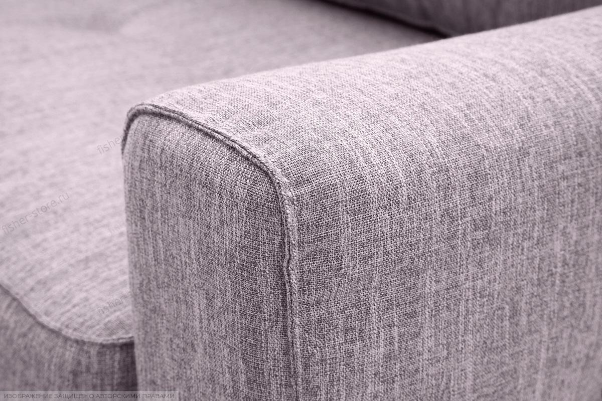 Прямой диван Джерси-5 с опорой №4 Orion Lilac Подлокотник