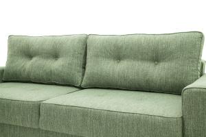 Прямой диван Джерси-5 с опорой №4 Orion Green Подушки