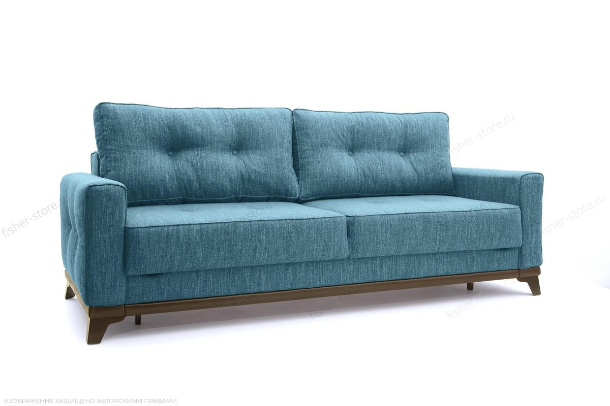 Прямой диван Джерси-5 с опорой №4 Orion Denim Вид по диагонали