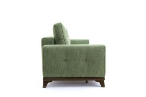 Прямой диван Джерси-5 с опорой №4 Orion Green Вид сбоку