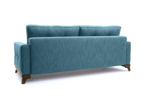 Прямой диван Джерси-5 с опорой №4 Orion Denim Вид сзади