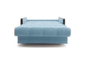 Прямой диван Аккорд-7 с накладками МДФ (120) Amigo Blue Спальное место