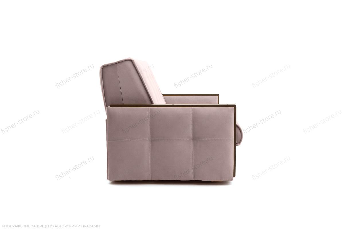 Прямой диван Аккорд-7 с накладками МДФ (120) Amigo Java Вид сбоку