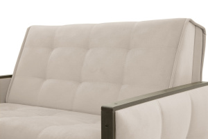 Диван Аккорд-7 с накладками МДФ  Amigo Cream Текстура ткани