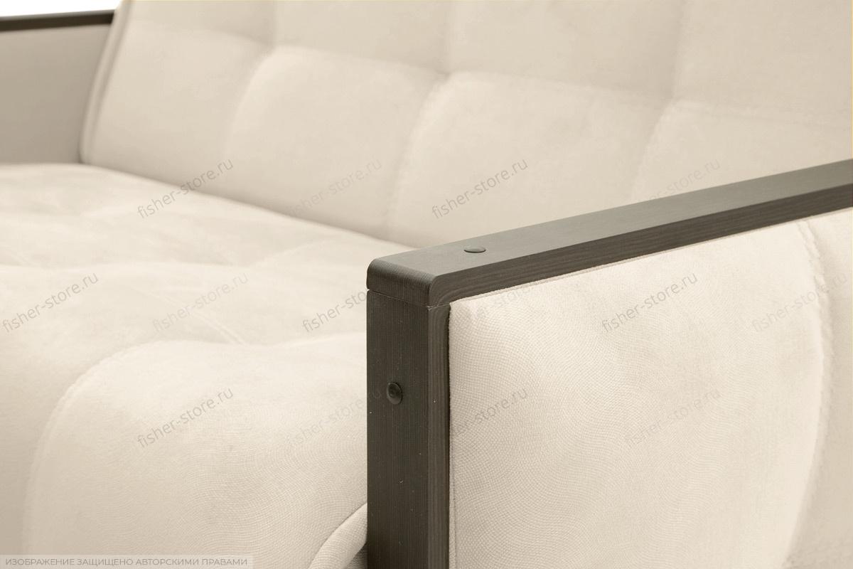 Прямой диван Аккорд-7 с накладками МДФ (120) Amigo Bone Подлокотник