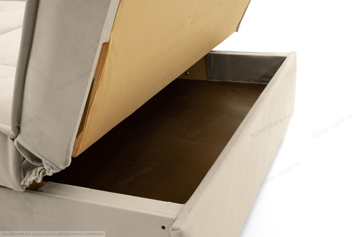 Прямой диван Аккорд-7 с накладками МДФ (120) Amigo Bone Ящик для белья
