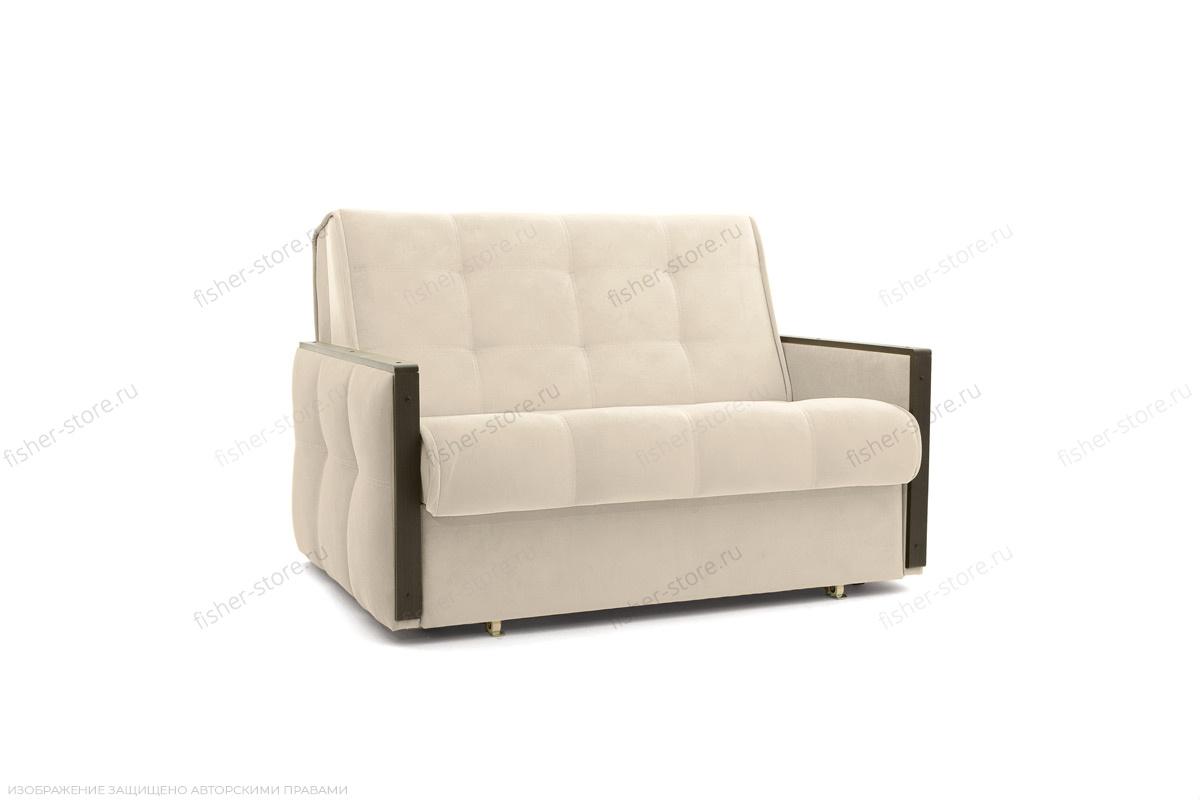 Прямой диван Аккорд-7 с накладками МДФ (120) Amigo Bone Вид по диагонали