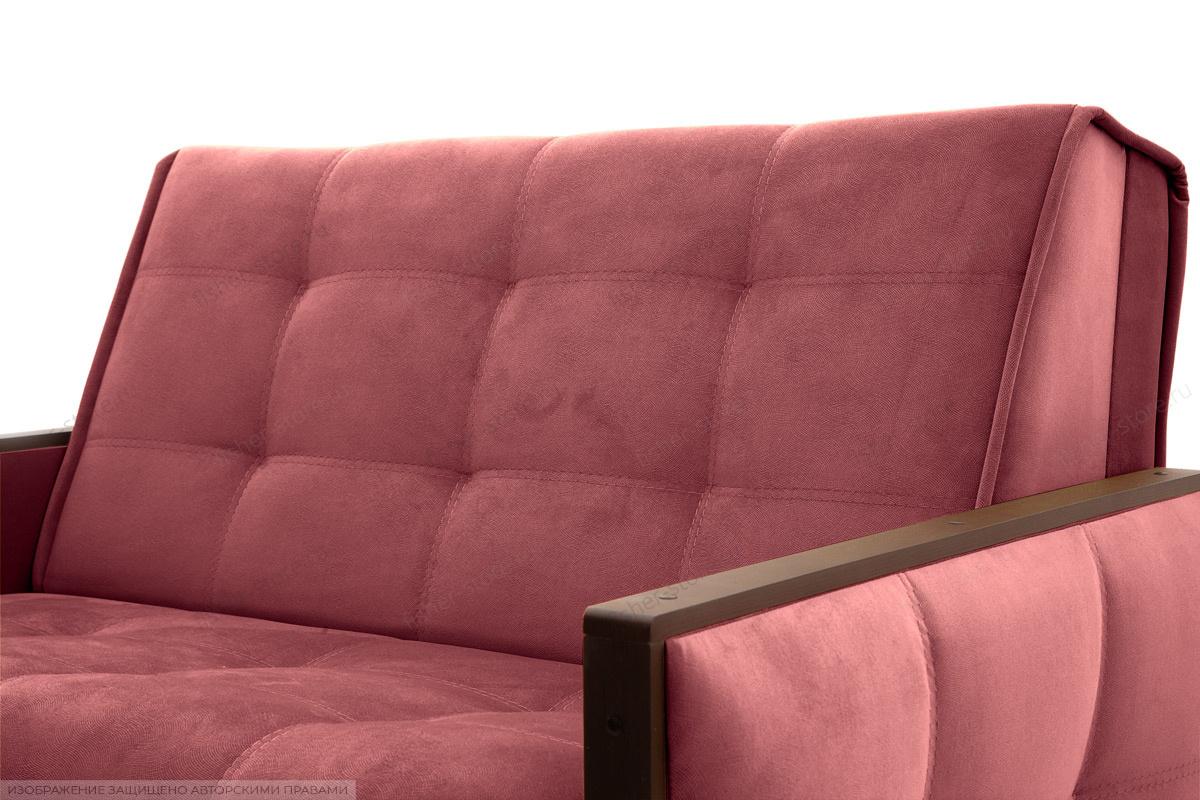 Прямой диван Аккорд-7 с накладками МДФ (120) Amigo Berry Текстура ткани