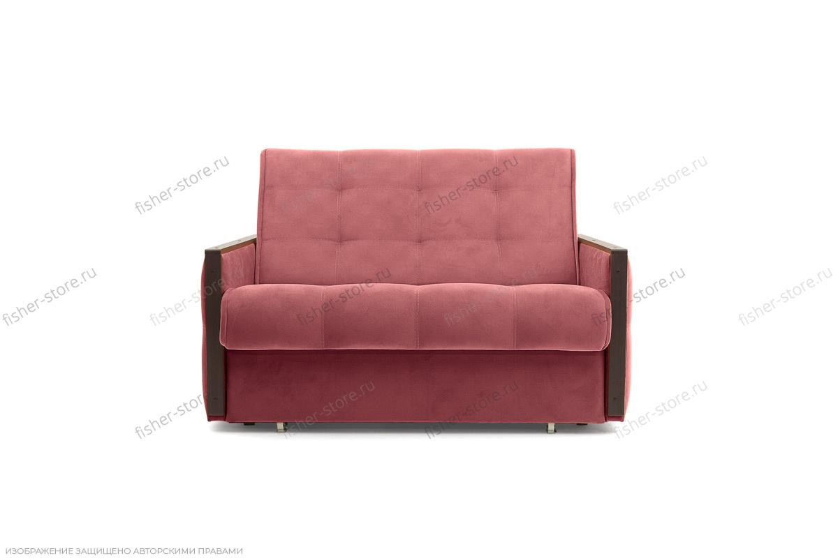 Прямой диван Аккорд-7 с накладками МДФ (120) Amigo Berry Вид спереди