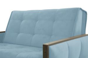 Прямой диван Аккорд-7 с накладками МДФ (120) Amigo Blue Текстура ткани