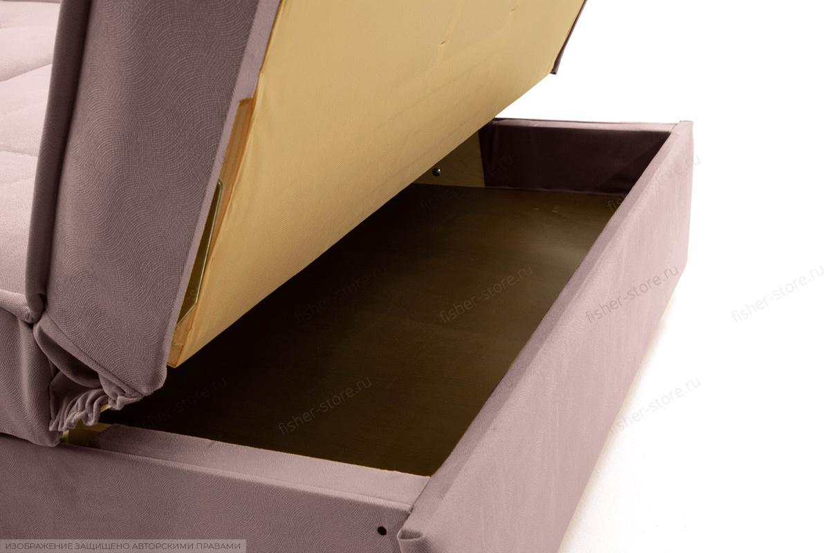 Прямой диван Аккорд-7 с накладками МДФ (120) Amigo Java Ящик для белья