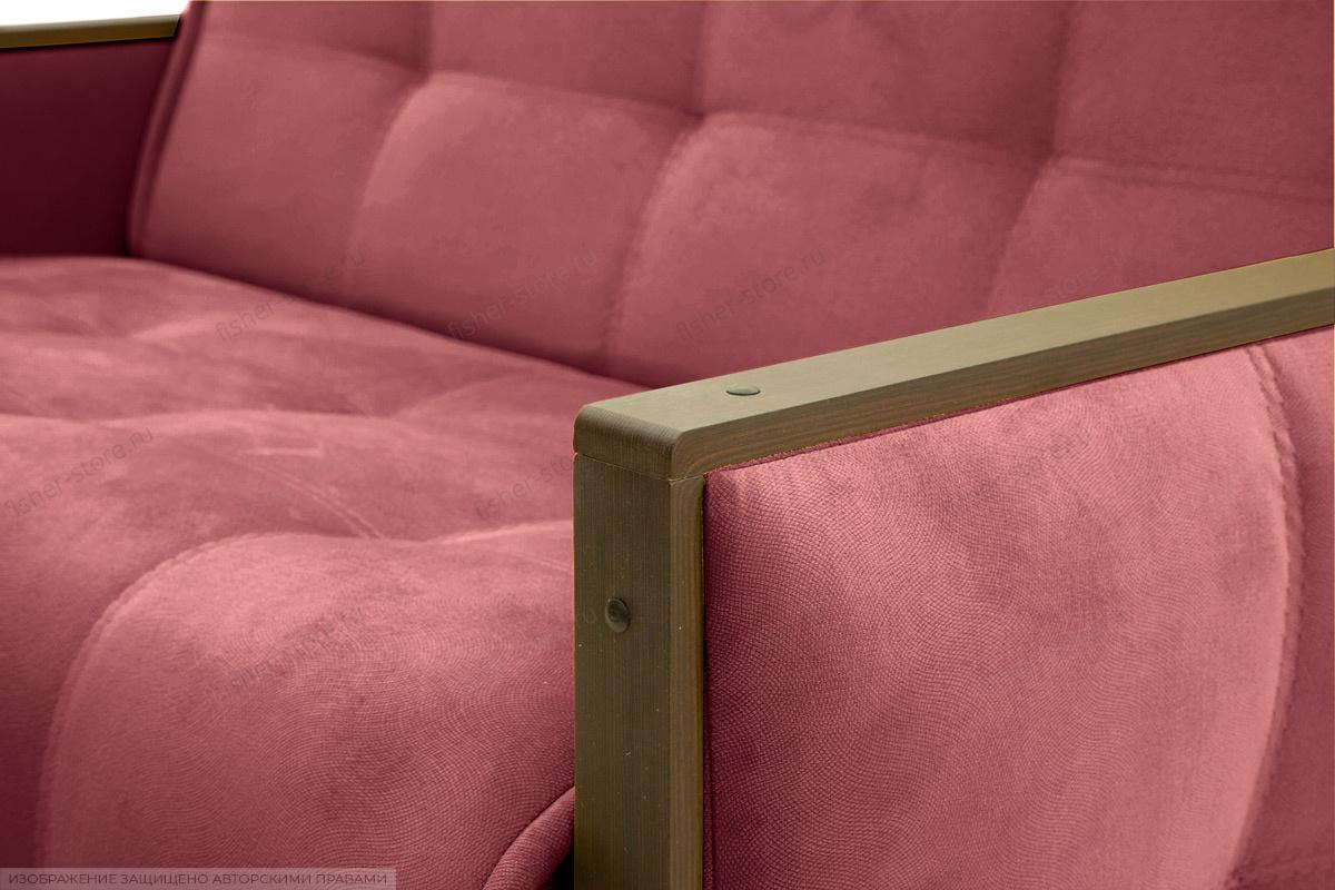 Прямой диван Аккорд-7 с накладками МДФ (120) Amigo Berry Подлокотник