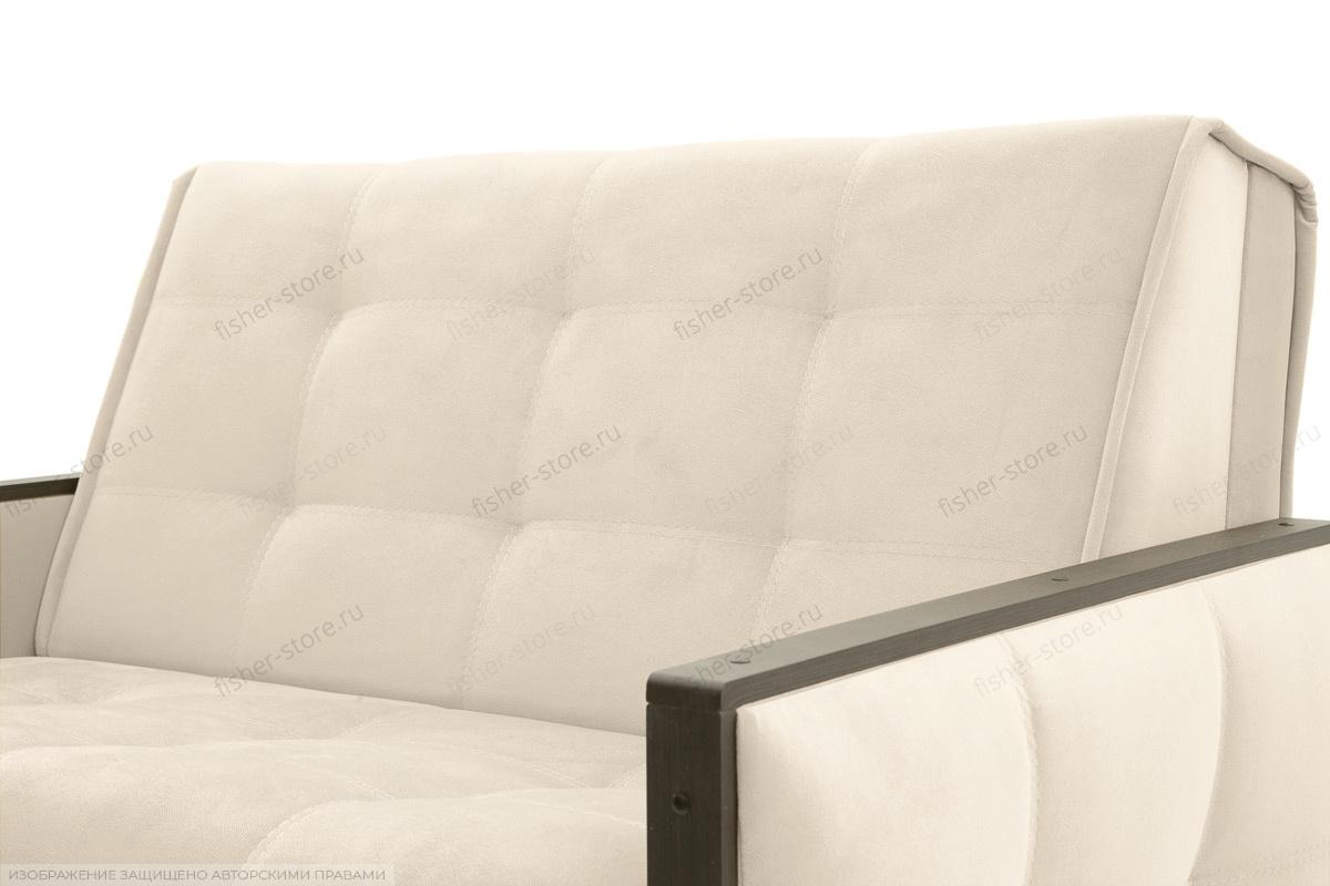 Прямой диван Аккорд-7 с накладками МДФ (120) Amigo Bone Текстура ткани