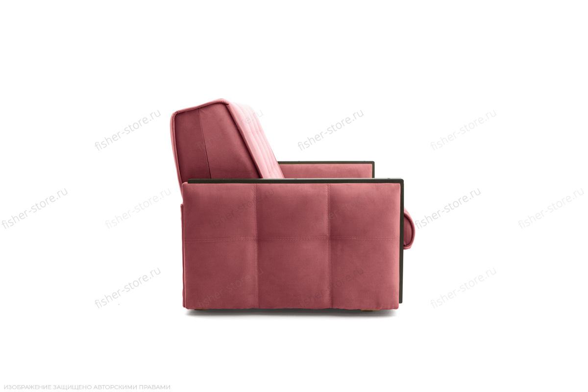 Прямой диван Аккорд-7 с накладками МДФ (120) Amigo Berry Вид сбоку