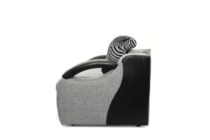Прямой диван Арена Big Grey + Zebra Вид сбоку