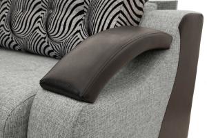 Прямой диван Арена Big Grey + Zebra Подлокотник