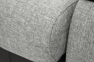 Прямой диван Арена Big Grey + Zebra Текстура ткани