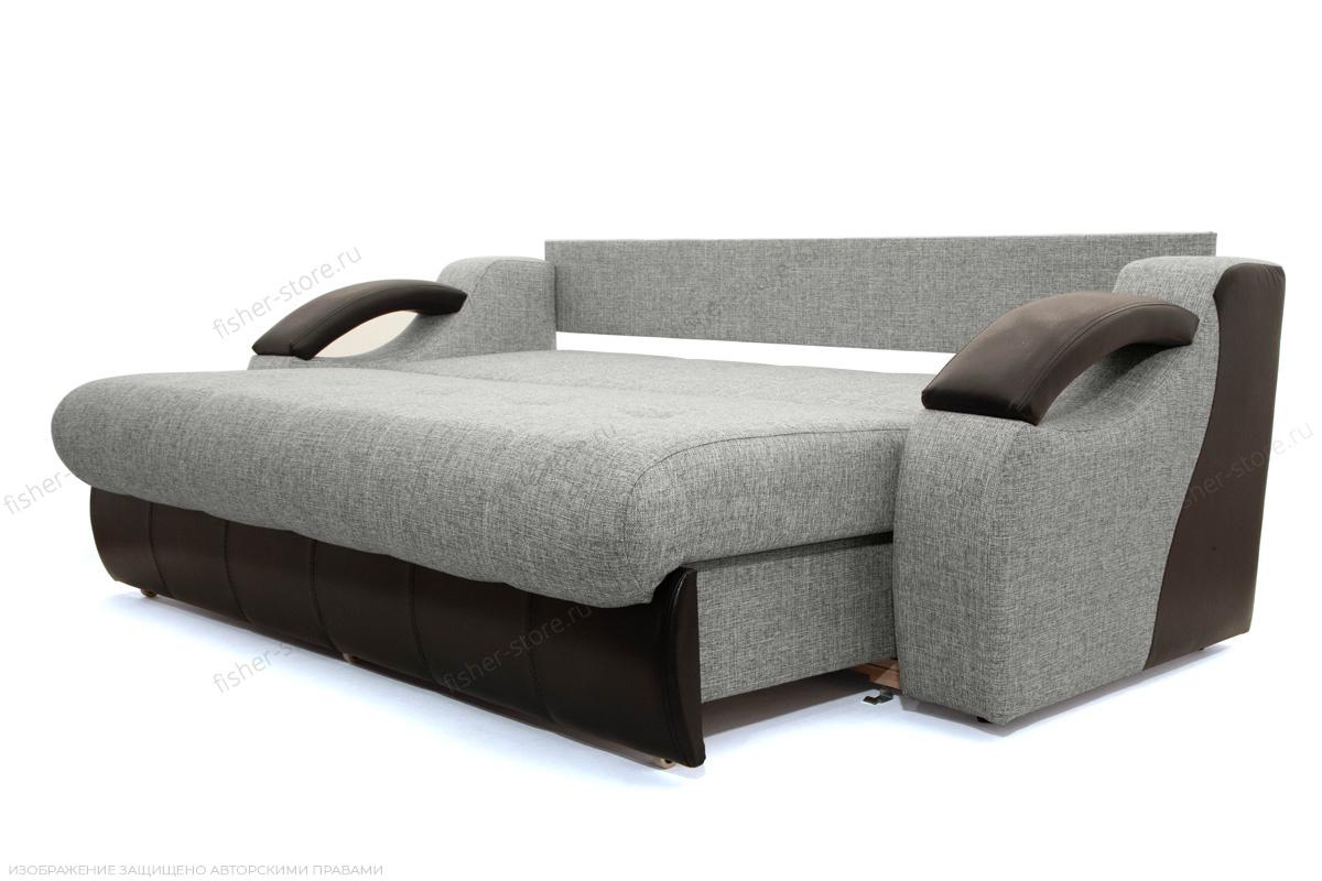 Прямой диван Арена Big Grey + Zebra Спальное место