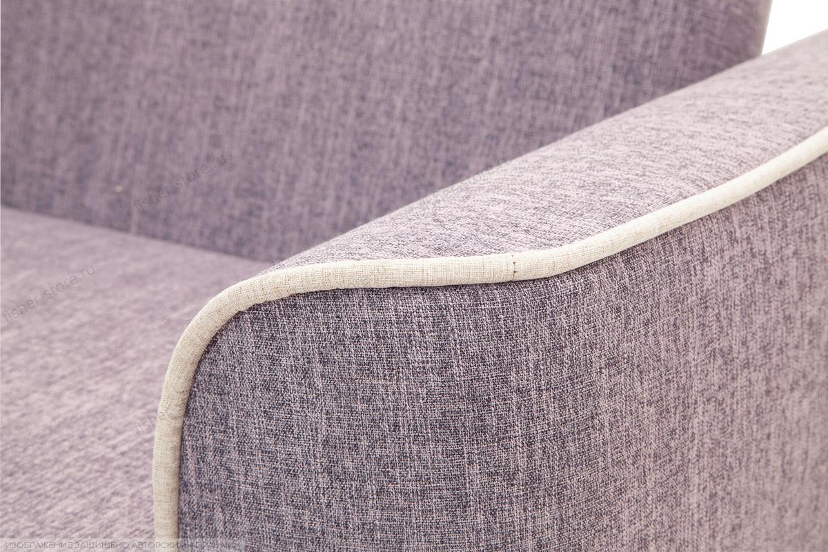 Прямой диван Берри-3 Orion Lilack Текстура ткани