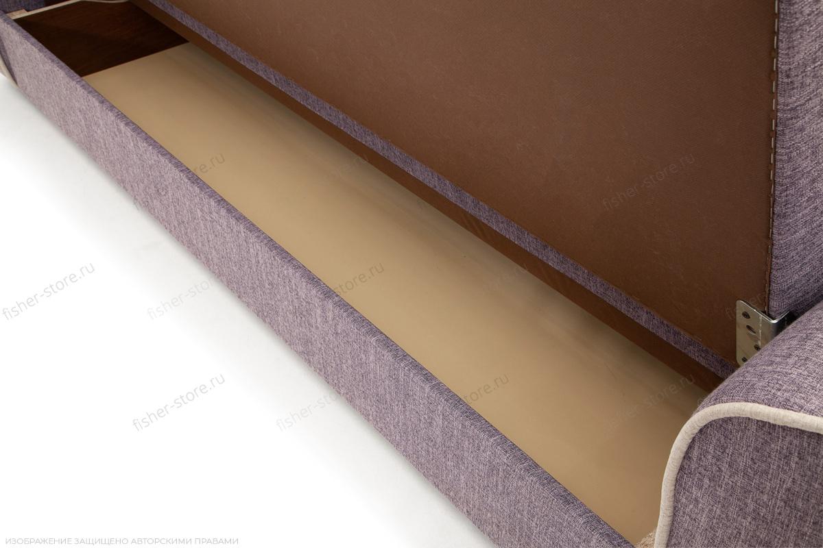 Прямой диван Берри-3 Orion Lilack Ящик для белья