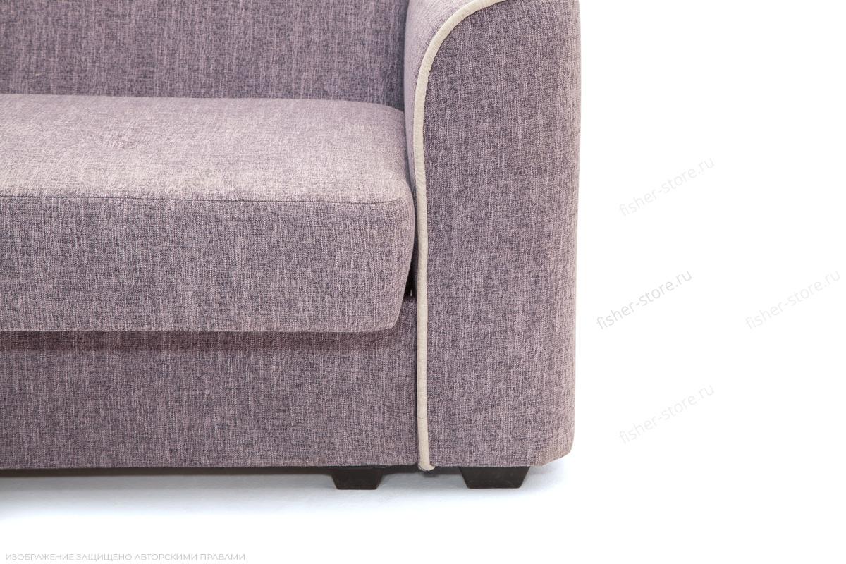 Прямой диван Берри-3 Orion Lilack Ножки
