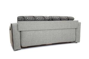 Прямой диван Арена Big Grey + Zebra Вид сзади