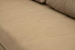Прямой диван еврокнижка Варшава люкс Maserati Light brown + Alfa 04 Текстура ткани