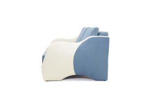 Прямой диван Вико Amigo Blue + Sontex Milk Вид сбоку
