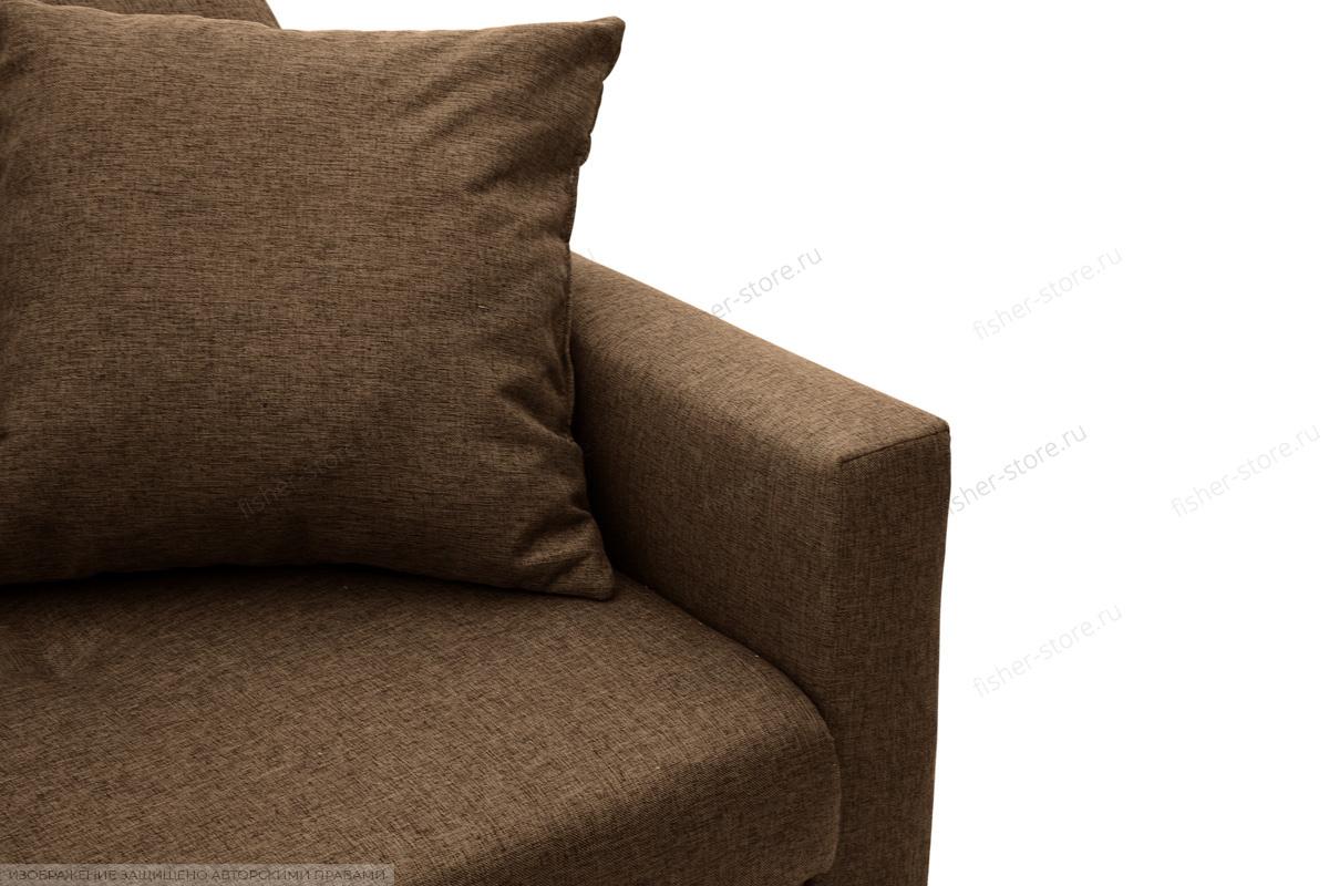 Угловой диван Парус Dream Brown Текстура ткани