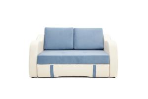 Прямой диван Вико Amigo Blue + Sontex Milk Вид спереди