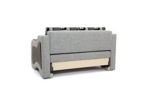 Прямой диван Вико-2 Big Grey + TV Вид сзади